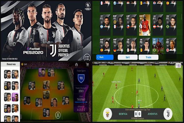 PES 2020 Mobile v3.6.0 Mod Juventus