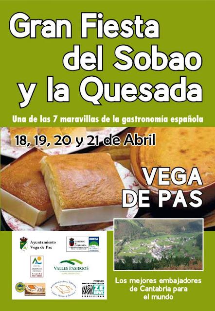 Fiesta del sobao y la quesada en Vega de Pas 2019