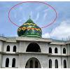Subhanallah! Atas Kekuasaan Allah, Awan Lafaz Allah Muncul di Atas Qubah Masjid Taqwa Pekanbaru