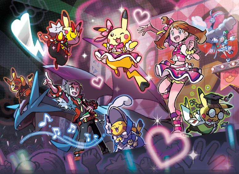 Pokémon Contest Spectacular - Pokémon OmegaRuby e AlphaSapphire