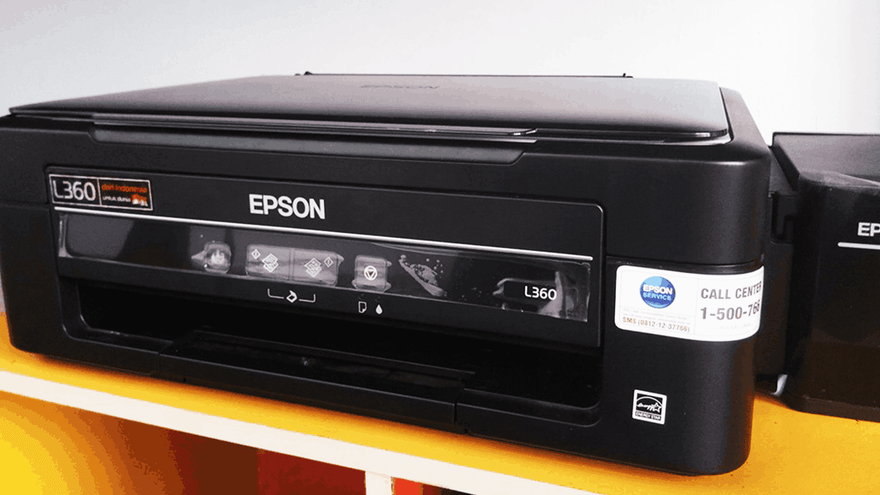 Cara Membersihkan (Cleaning) Printer Epson L360 dengan Mudah