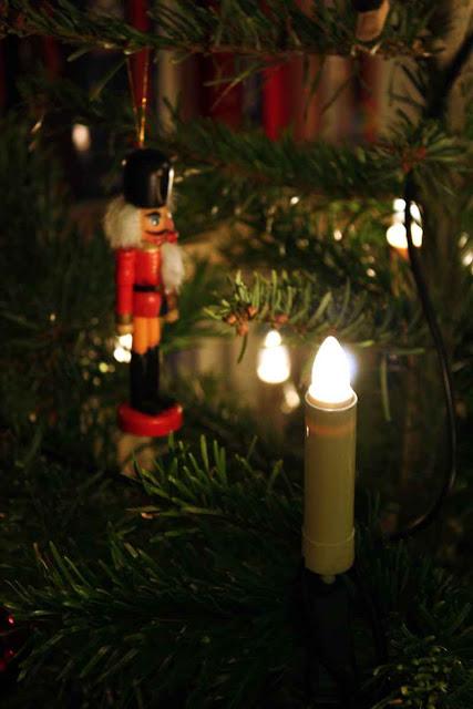 Nussknacker als Weihnachtsbaumschmuck