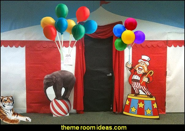 carnival circus theme party decorations - circus carnival themed birthday party - Ice Cream theme decor -  circus party supplies -