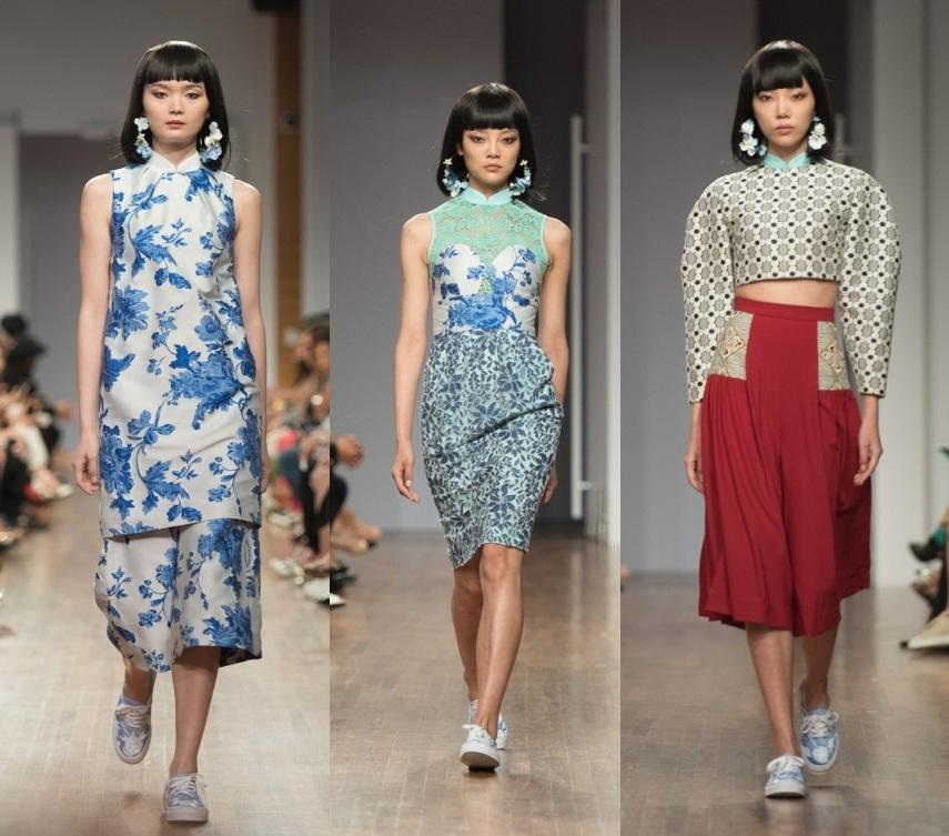 Ong Shunmugam Cheongsam 2017 collection