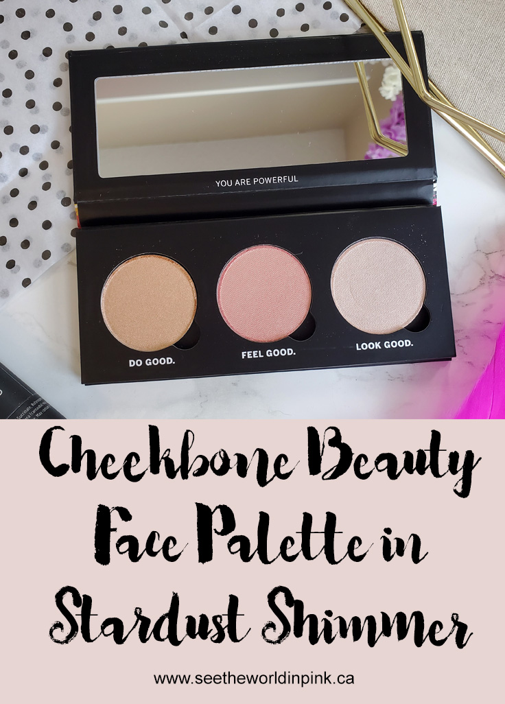 Cheekbone Beauty Face Palette in Stardust Shimmer