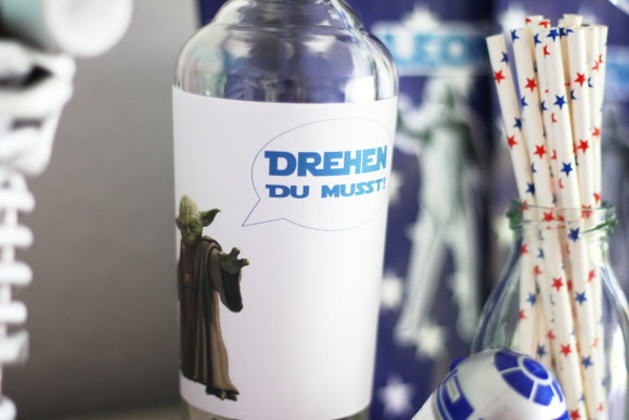 Flaschendrehen Star Wars Kindergeburtstag