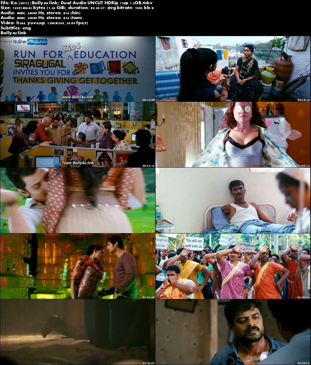 Ko 2011 HDRip UNCUT Hindi Dual Audio 720p Download