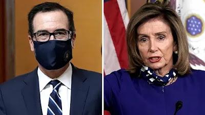 Mnuchin e Pelosi chegam a acordo para evitar paralisação governamental 2