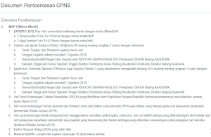 Apa Saja Syarat Pemberkasan CPNS 2019? Simak Selengkapnya