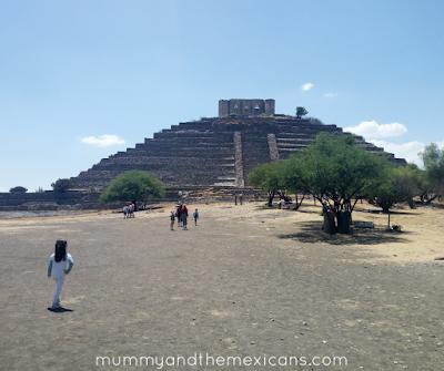 Days Out In Querétaro - The Pyramid Of El Pueblito - Image Shows Pyramid