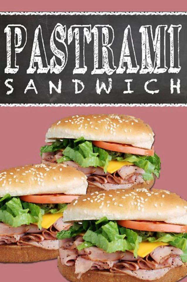 National Hot Pastrami Sandwich Day Wishes Unique Image