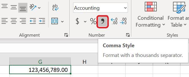 Comma Style