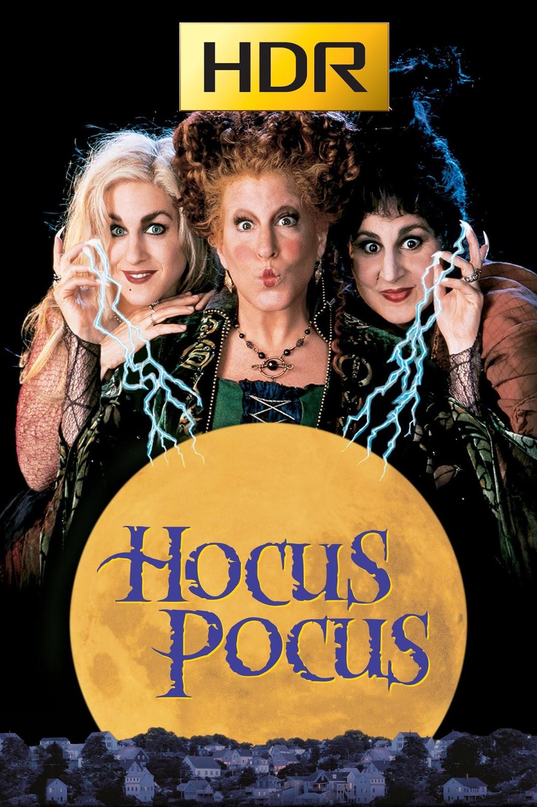 Hocus Pocus: Abracadabra (1993) 4K UHD HDR Webrip Latino
