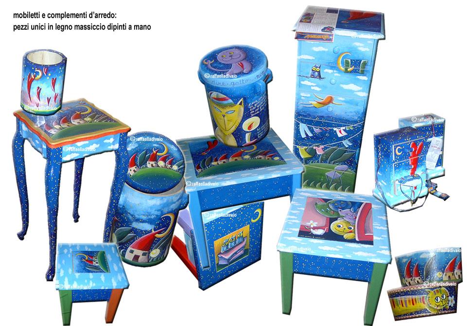 Raffaelladivaio illustrazione e creativit mobili e for Mobili complementi d arredo