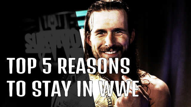TOP 5 Reasons Why Adam Cole Should Stay With WWE [Pro-Wrestling]