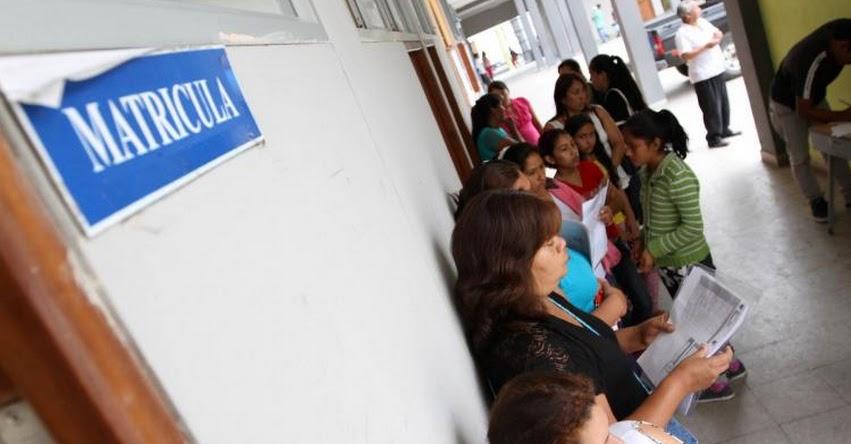 MINEDU: Matrícula en escuelas públicas es gratuita y no está condicionada a pagos, recuerda el Ministerio de Educación - www.minedu.gob.pe