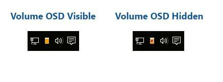 Hide Volume Pop Up Display Windows ~ Net Ki Duniya