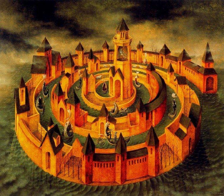 Surrealism and visionary art remedios varo - Saint teresa of avila interior castle ...