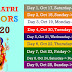 9 Colours of Navratri | Navratri Colours and their Meaning
