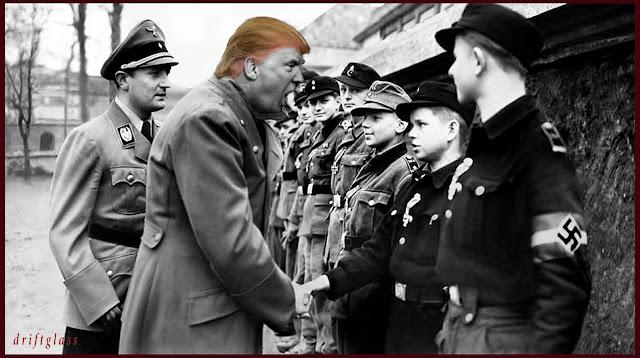 Trump Hitler Medals by Driftglass
