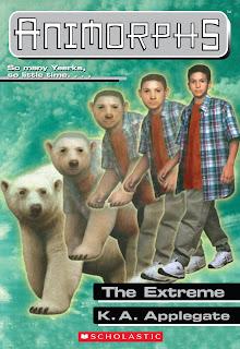A boy (Marco) turns into a polar bear