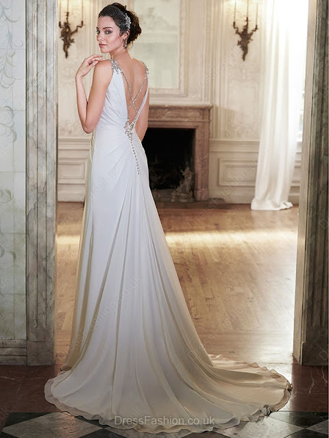 http://www.dressfashion.co.uk/product/sweep-train-white-chiffon-beading-v-neck-backless-wedding-dress-ukm00022124-13723.html?utm_source=minipost&utm_medium=1173&utm_campaign=blog