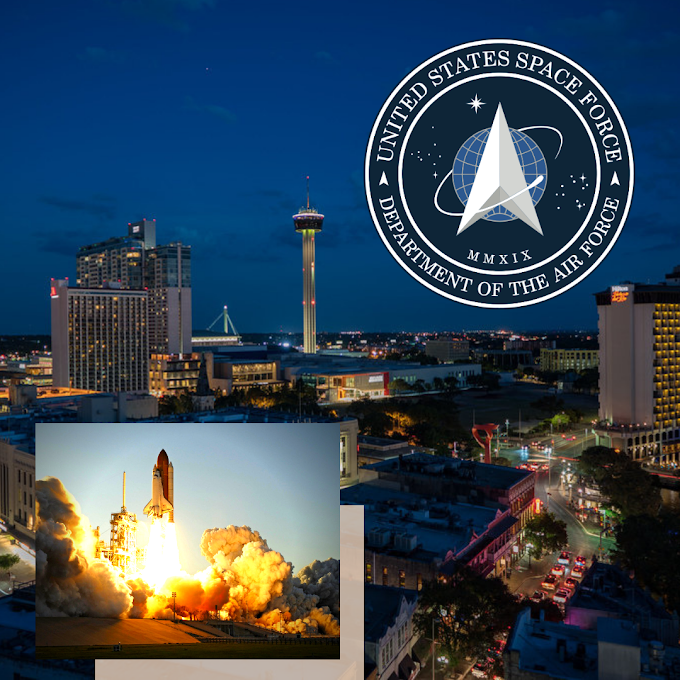The Countdown City in the Running For Space Force Base - San Antonio