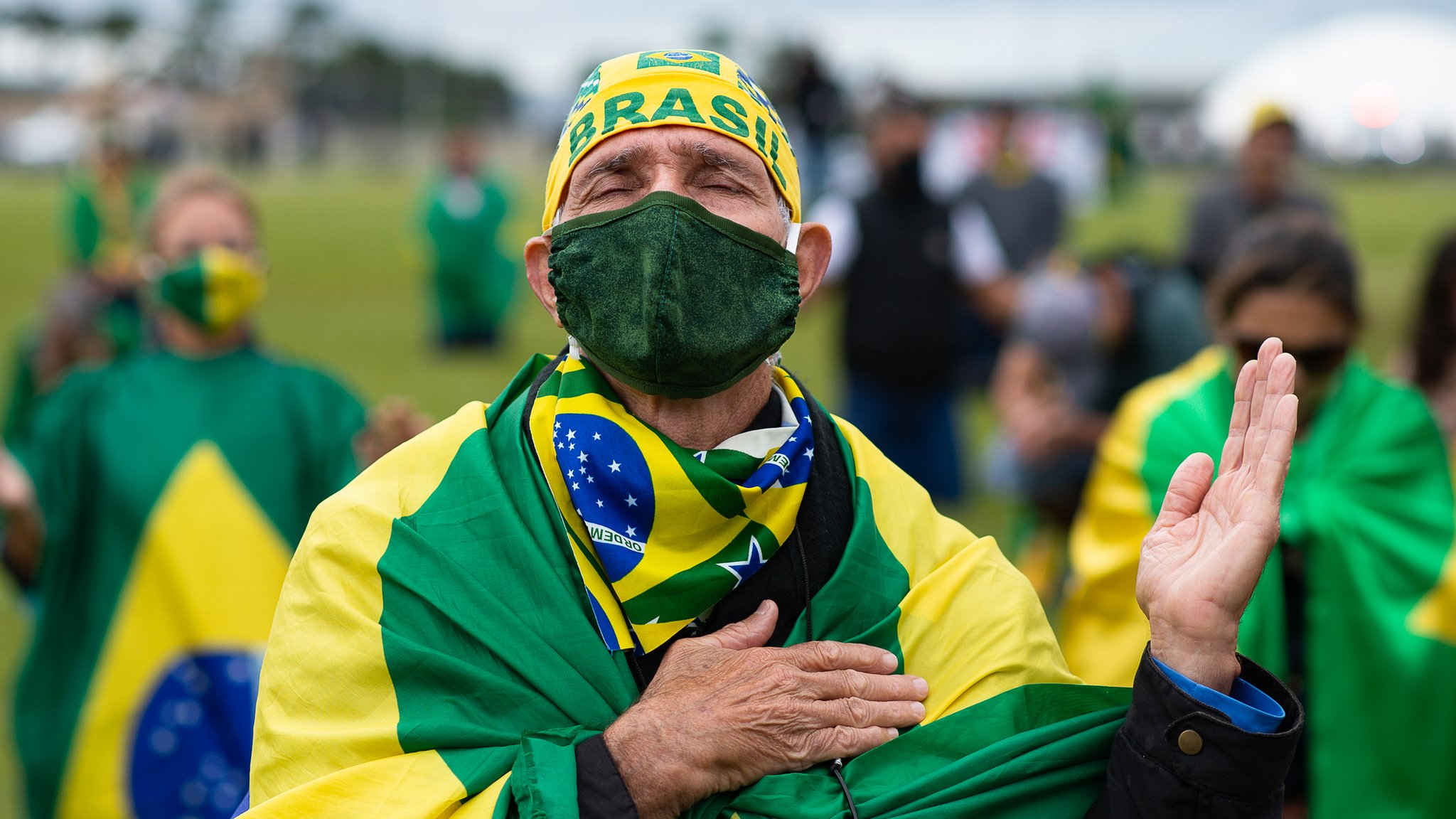 Brasil registró un nuevo récord de fallecidos por Covid-19 en una sola jornada