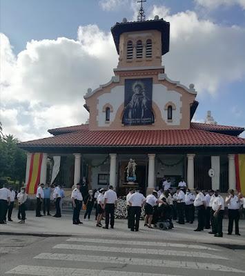 Virgen del Carmen, Salinas