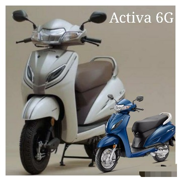 Honda activa 6g price, color, features