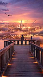 Wonderfull City Mobile HD Wallpaper