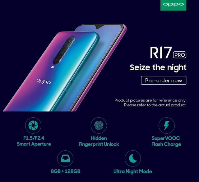 Oppo is going to launch R17 Pro in India Today-FBARA