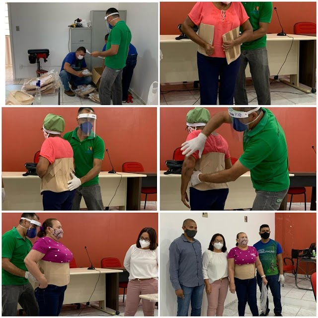 Elesbão Veloso: Em parceiria com a Sesapi, Seid e Ceir, Secrearia de Saúde promove entrega de equipamentos ortopédico.