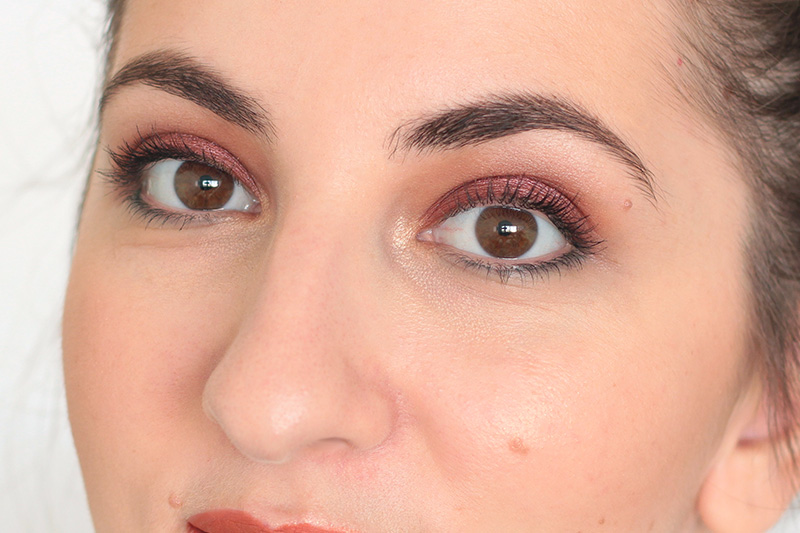 Terracotta Fall Makeup