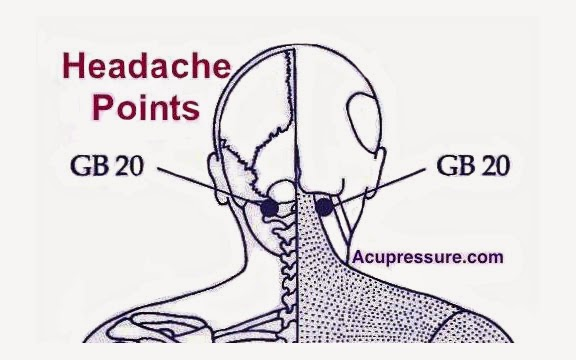 Tom Kbrink's Art and Holistic Living: Acupressure Point - GB 20