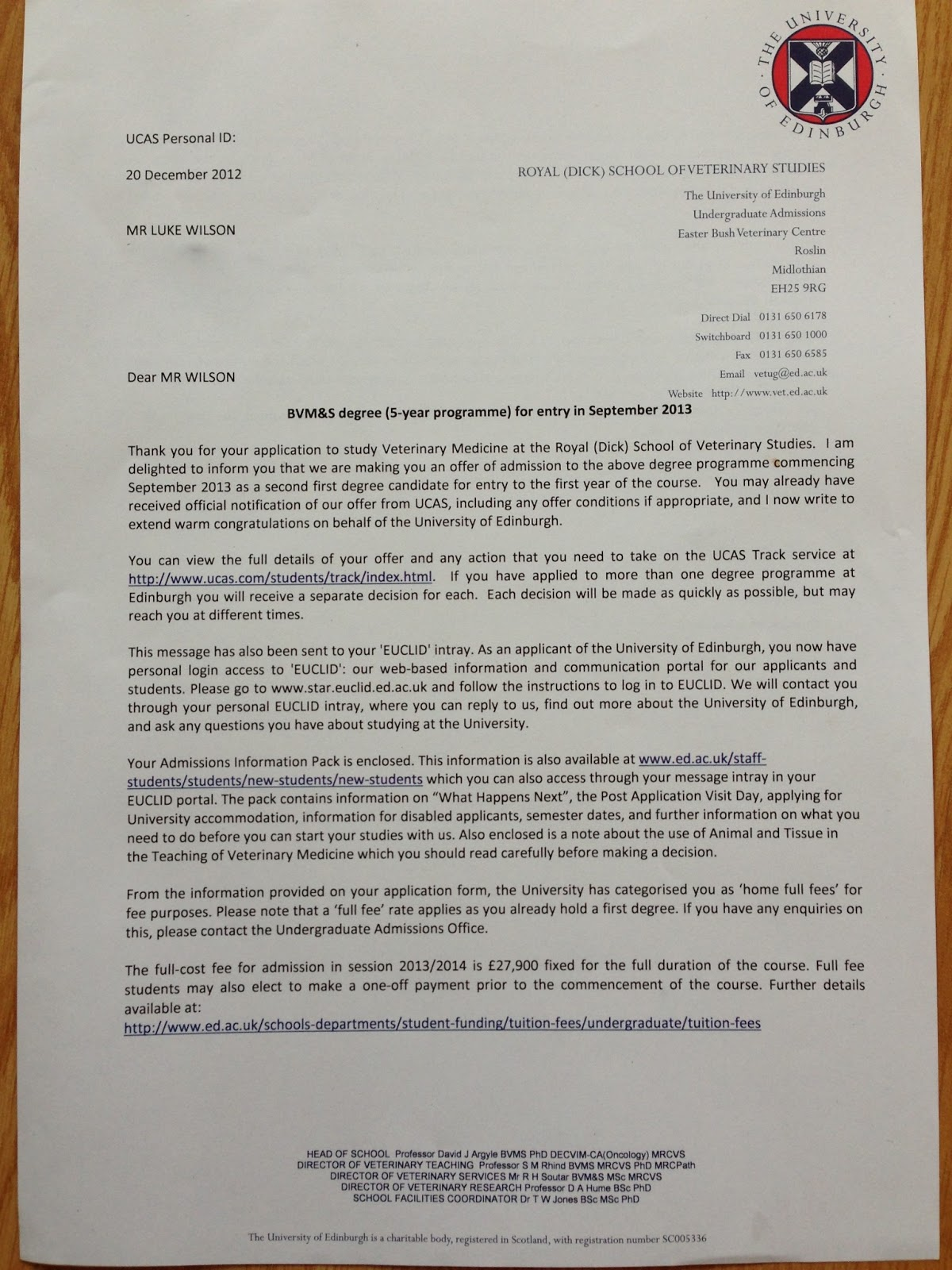 official offer letter Oylekalakaarico