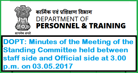 dopt-minutes-of-meeting-of-standing-committee-paramnews