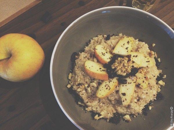 Recette Porridge vitaminé et complet, un petit déjeuner So British avec Markal