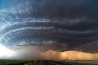 Supercell over Oklahoma