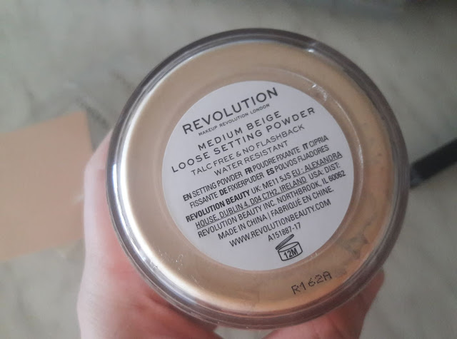 makeup revolution loose powder notino.hr