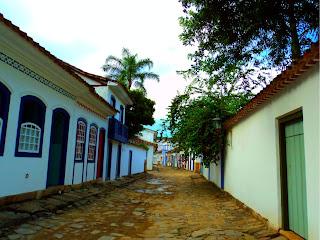 Casarões do Centro Histórico de Paraty