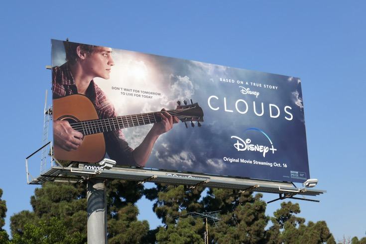 Disney Clouds movie billboard