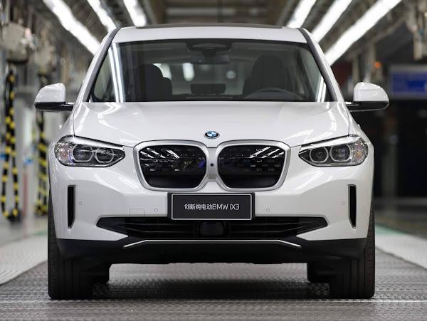 BMW iX3 elétrico começa a ser produzido na China