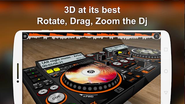 DiscDj 3D Music Player - 3D Dj Music Mixer Studio free Dwonload