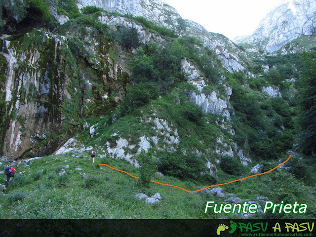 Fuente Prieta, Amieva