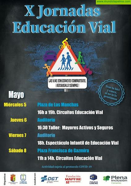 Las Jornadas de Educación Vial vuelven a El Paso por décimo año consecutivo