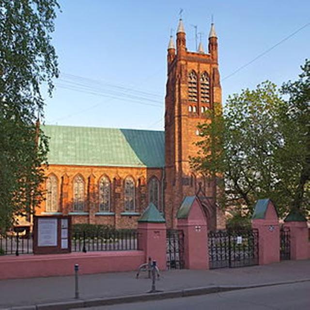 Англиканская церковь Святого Андрея в Вознесенском переулке