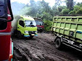 Jalan Lingkar Kota Prabumulih Rusak Parah