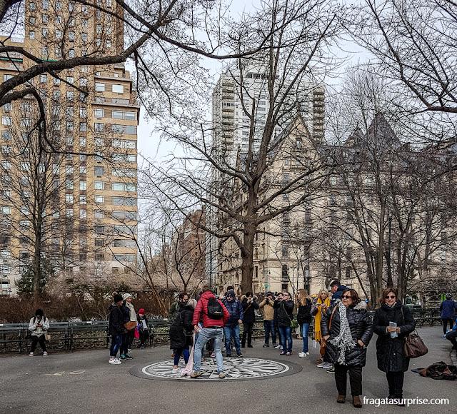 Starwberry Fields, memorial a John Lennon, Nova York