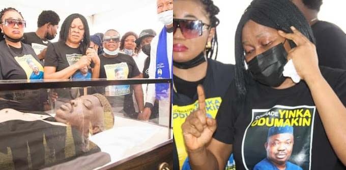 Photos From The Lying-in-State Of Human Rights Activist, Yinka Odumakin